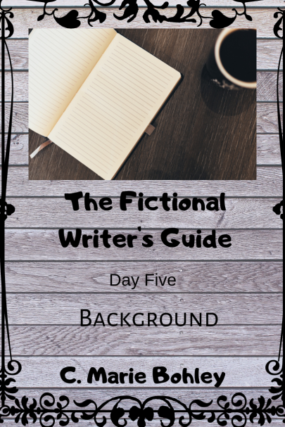 The Fictional Writer's Guide Day One