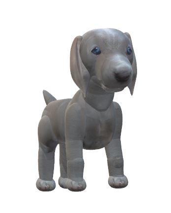 Weimaraner puppy snapshot